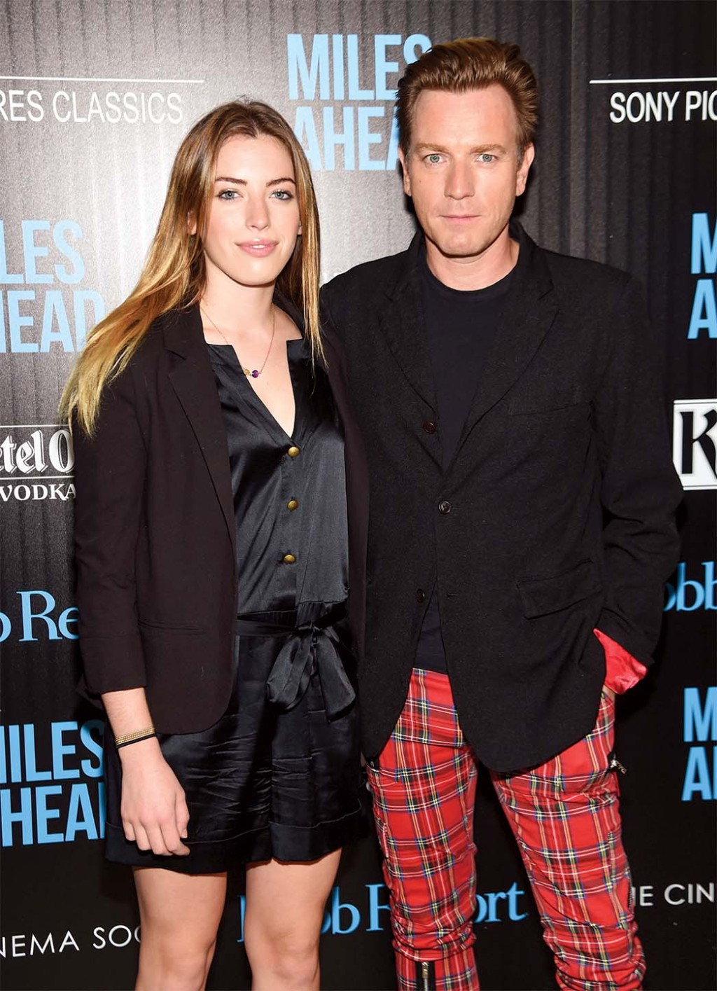 Clara McGregor and actor Ewan McGregor
