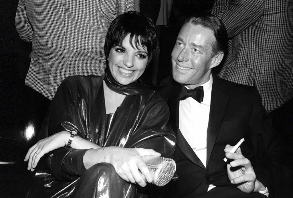Liza Minnelli and Halston