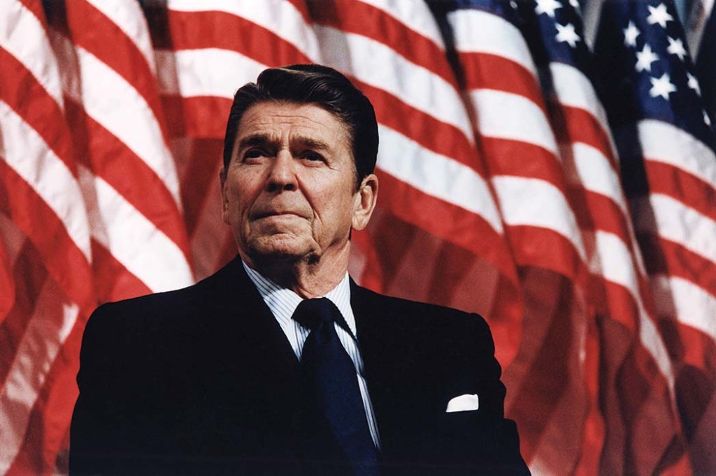 Ronald Reagan, among those cited as controlling the narrative around Black Americans.