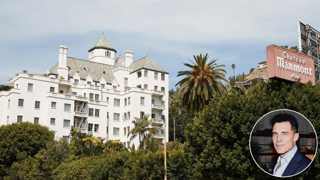 Chateau Marmont inset Andre Balazs