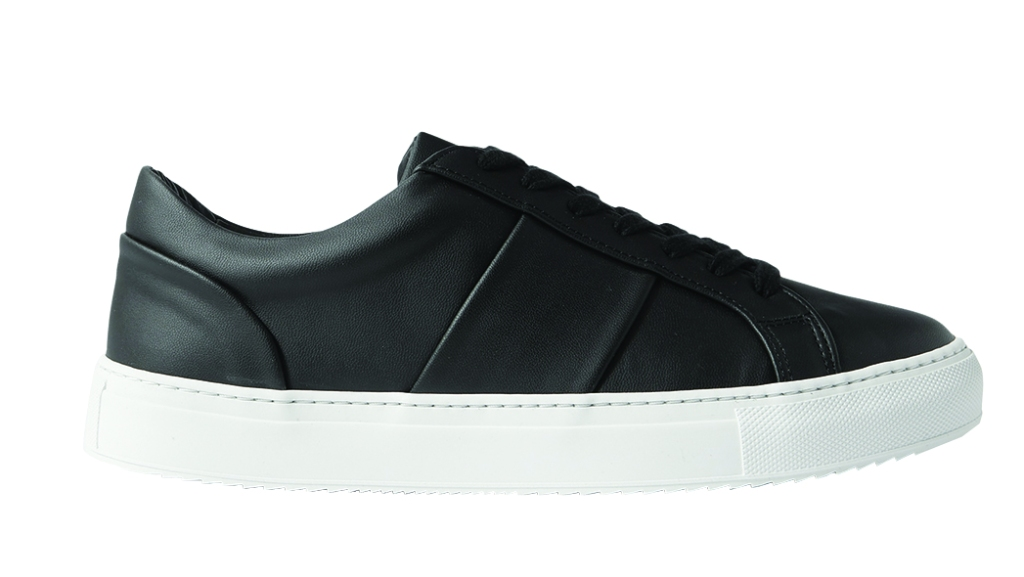 Mr P. - Larry Eco-Edition made from Vegea, a byproduct of Italian wine production; $335, mrporter.com