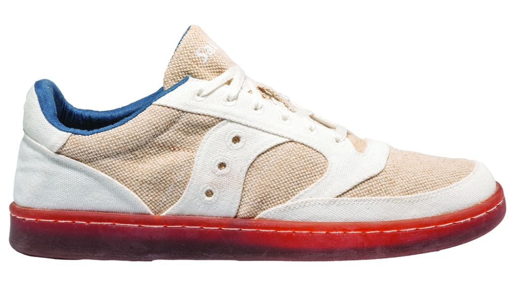 Saucony - Jazz Court RFG is made of completely plant-based materials, down to natural dyes from gardenias and beets; $130, saucony.com