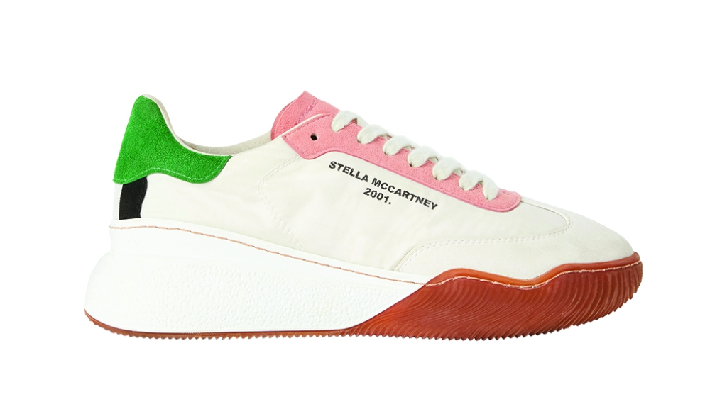 Stella McCartney - Loop lace-up women's sneakers made from recycled polyester and cruelty-free non-leather materials. JanelleMonáe has worn the brand; $495, stellamccartney.com