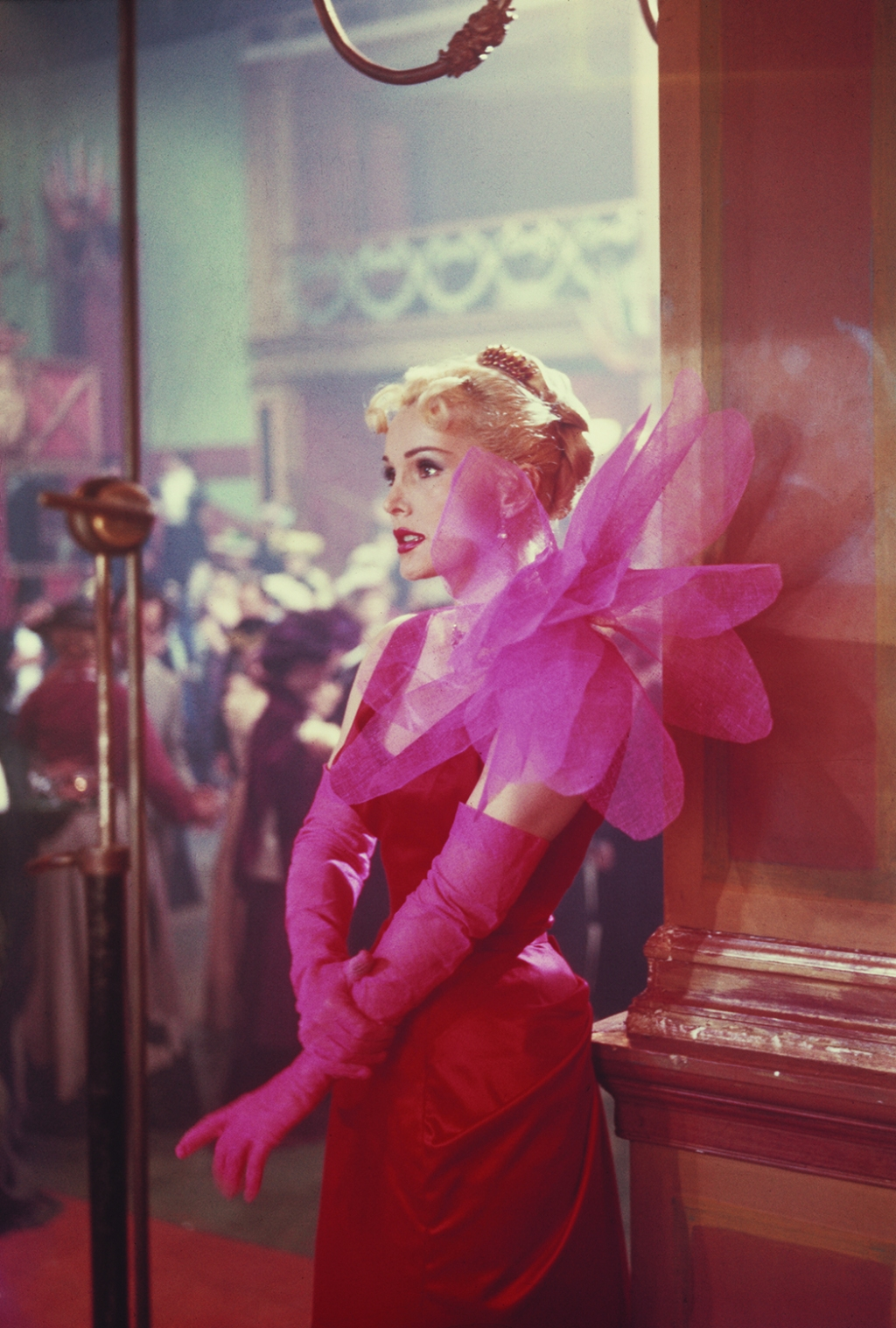 Zsa Zsa Gabor in 1952's Moulin Rouge.