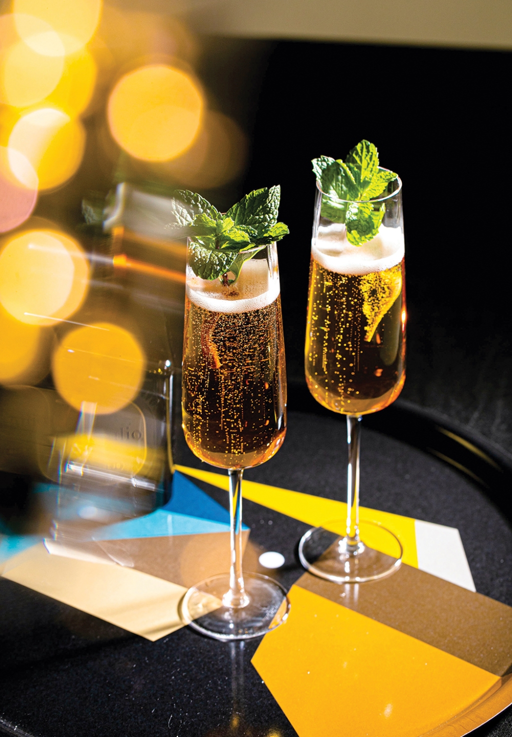 The Gilded, a make-at-home recipe created by Cocktail Academy