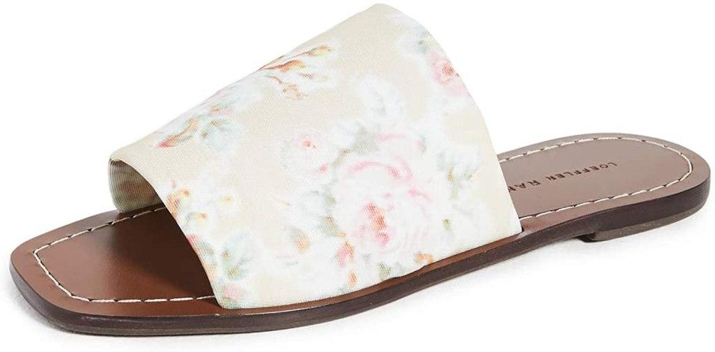 Loeffler Randall Daria flat sandal