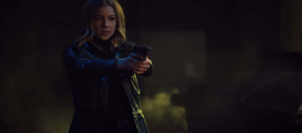 Emily VanCamp in THE FALCON AND THE WINTER SOLDIER