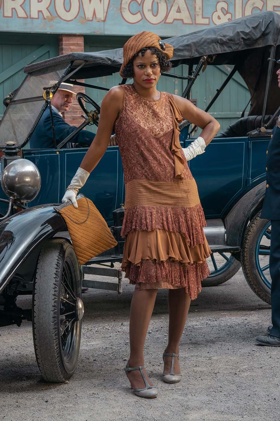 Taylour Paige as Dussie Mae in Ma Rainey's Black Bottom