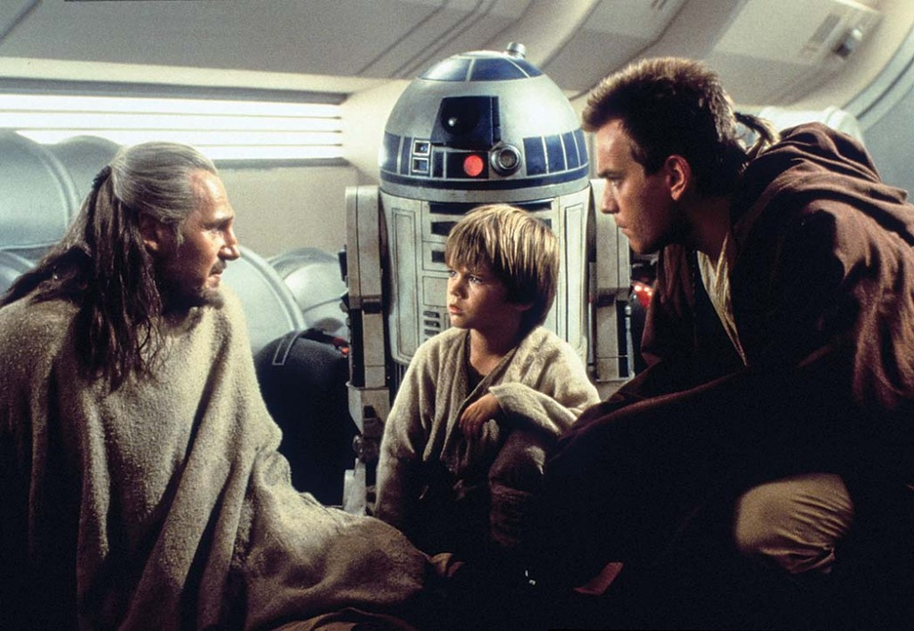 STAR WARS: EPISODE I - THE PHANTOM MENACE, Liam Neeson, Jake Lloyd, Ewan McGregor, 1999
