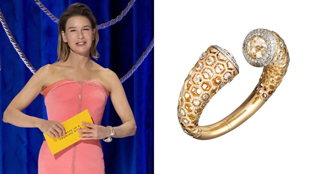 Jewelry at the Oscars Renee-Zellweger