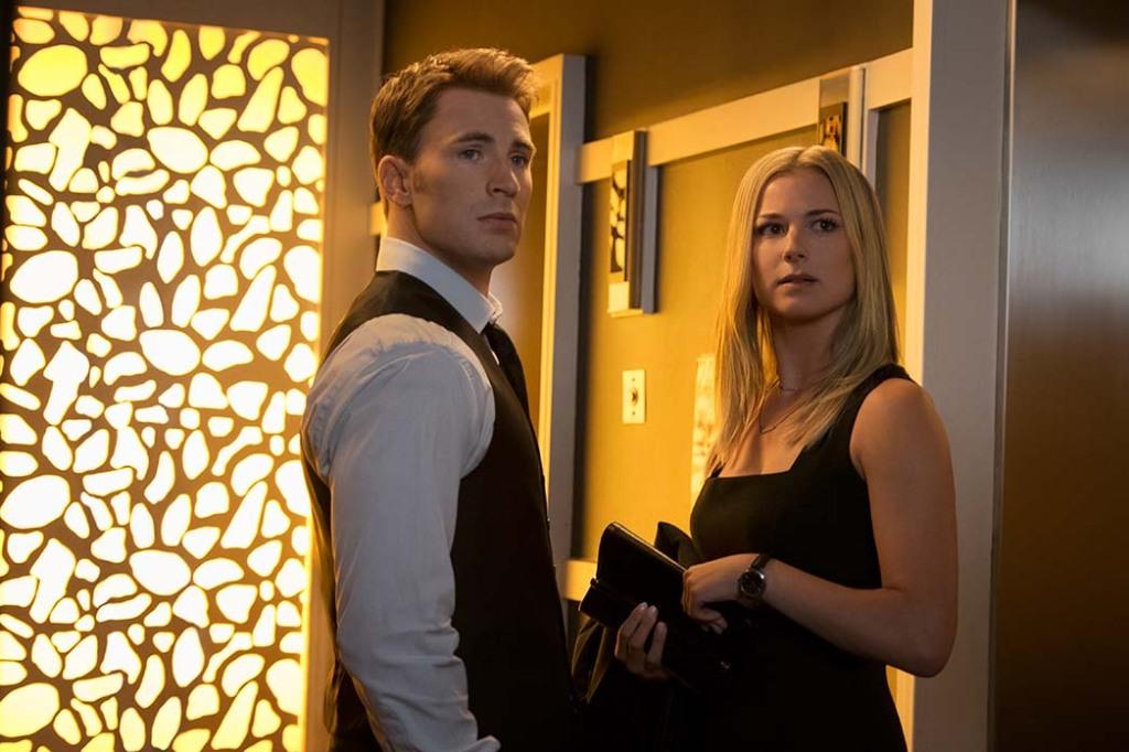 Chris Evans and Emily VanCamp
