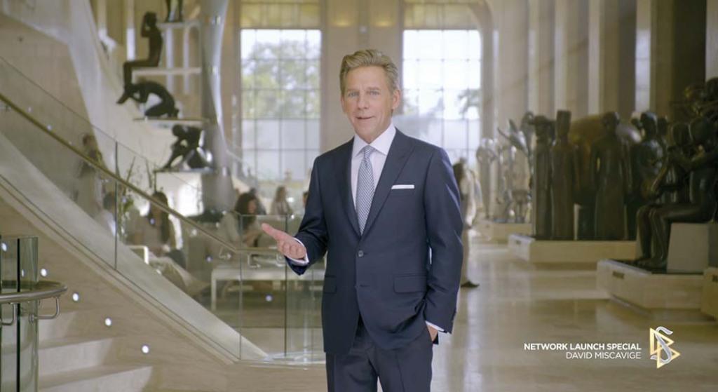 David Miscavige at Scientology Network's