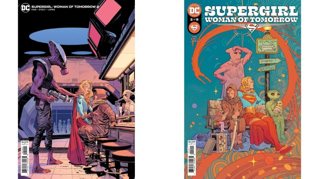 'Supergirl: Woman of Tomorrow' series by Tom King and artist Bilquis Evely.