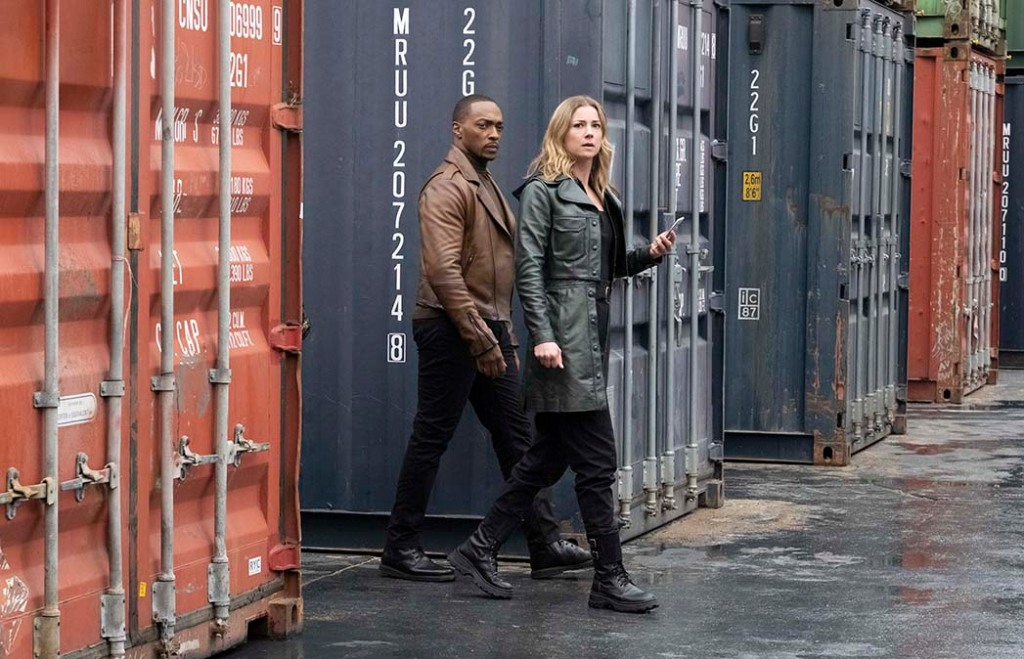 THE FALCON AND THE WINTER SOLDIER - Anthony Mackie- Emily VanCamp
