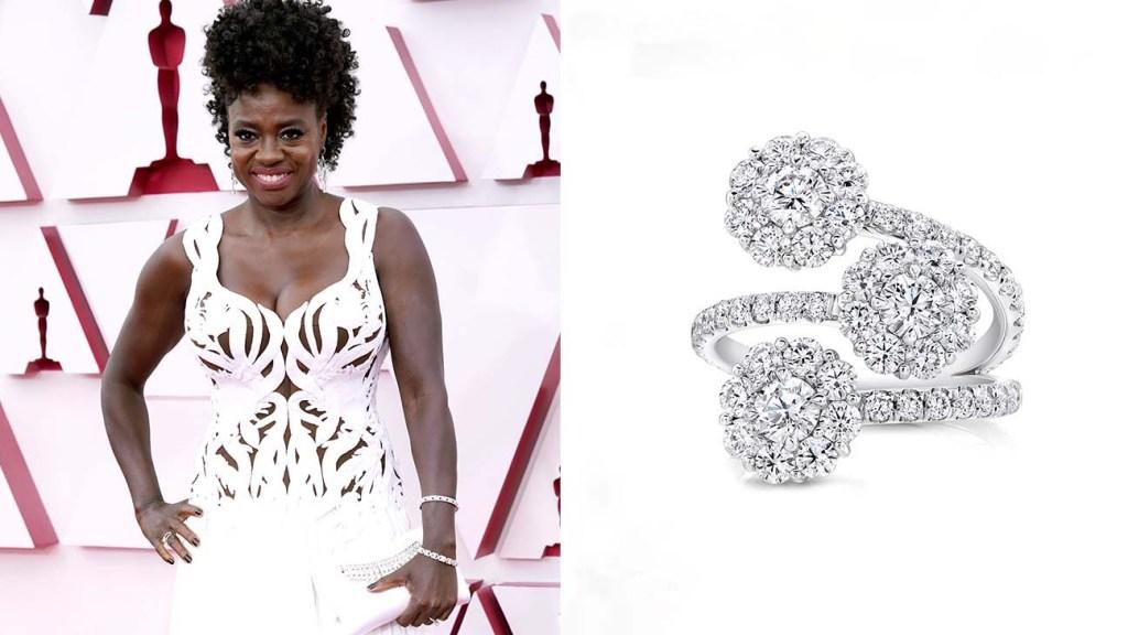 Jewelry at the Oscars Viola Davis
