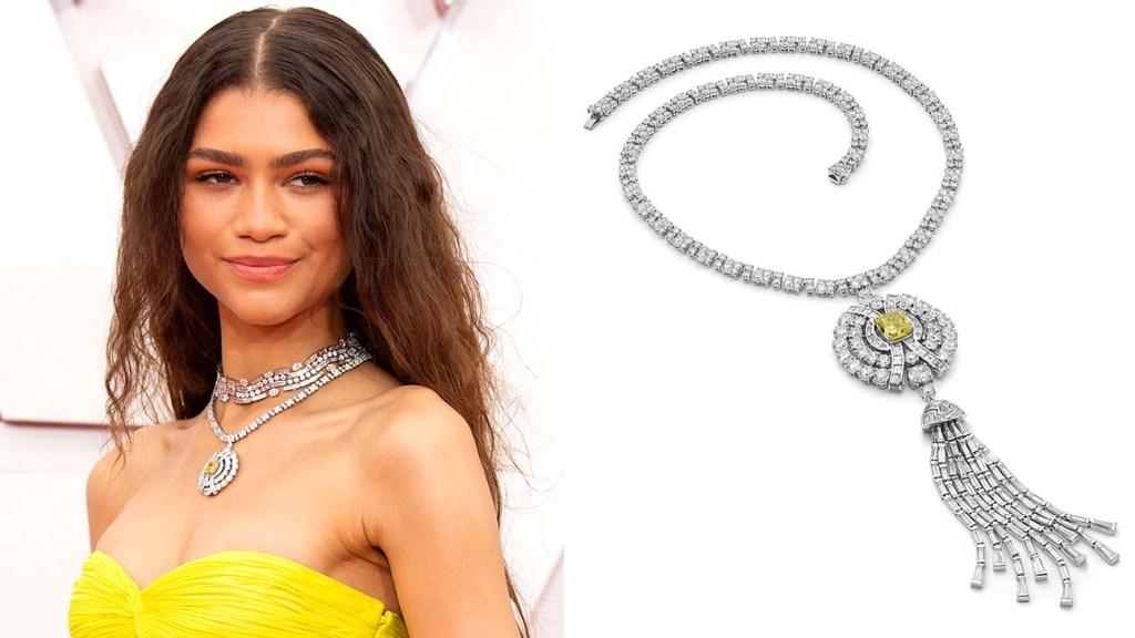 Jewelry at the Oscars -Zendaya