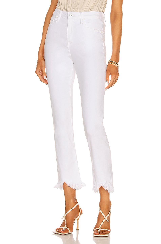 Jonathan Simkhai Standard River High Rise Straight Leg Jeans