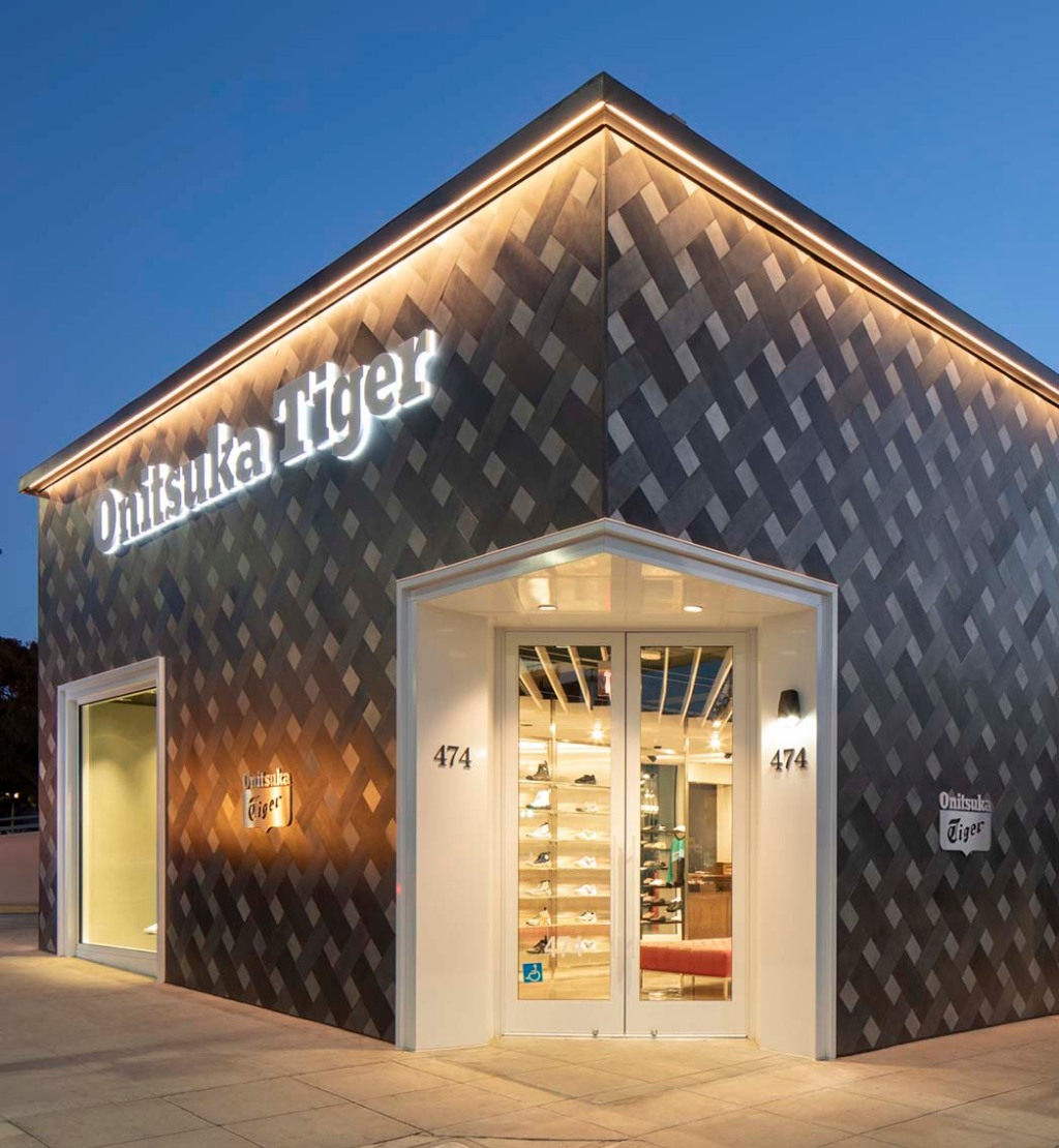 The new Onitsuka Tiger store in Beverly Hills