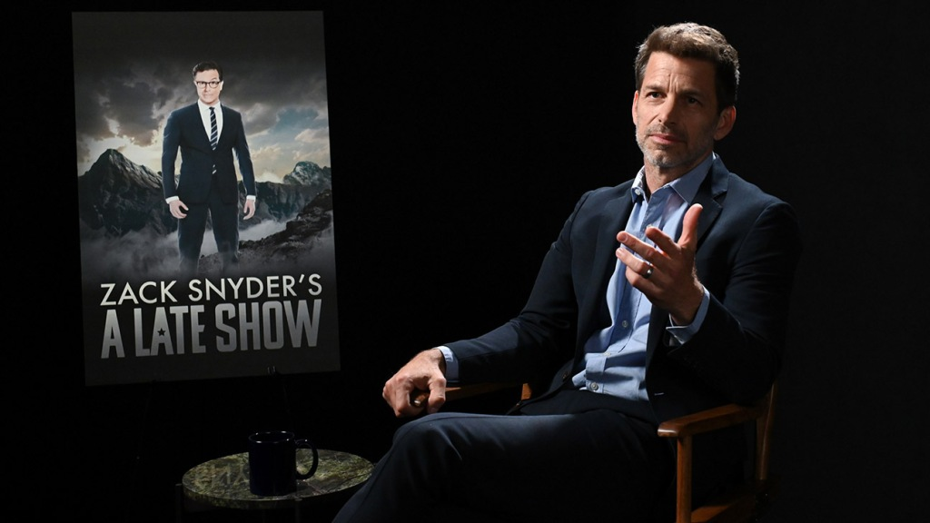 Zack Snyder on 'The Late Show with Stephen Colbert'