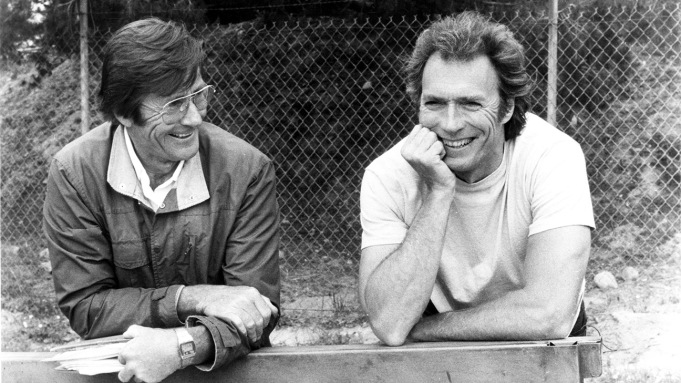 Buddy Van Horn and Clint Eastwood