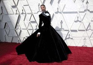 Porter stunned on the 2019 Oscar red carpet in his Christian Siriano gown.