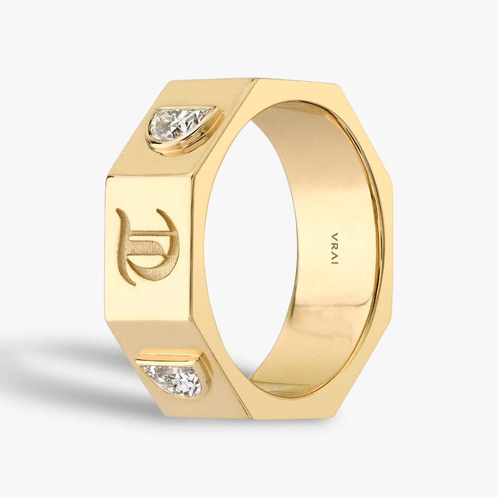 Vrai -Contract Ring - Jewelry