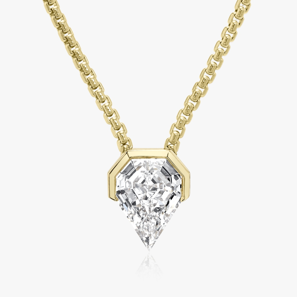 Vrai - Strength Necklace - Yellow Gold - Jewelry
