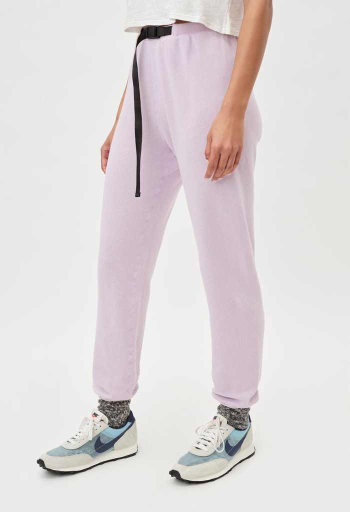 John Elliot Belted Vintage Fleece Sweatpants