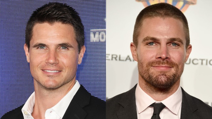 Robbie Amell Stephen Amell