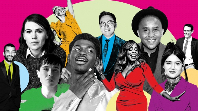 collage of THR's 10 LGBTQ Changemakers