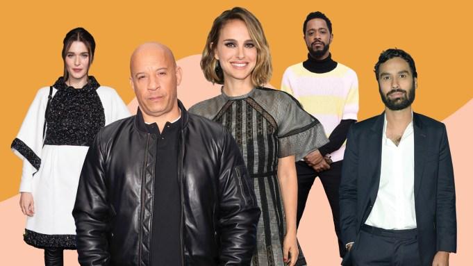 Rachel Weisz, Vin Diesel, Natalie Portman,