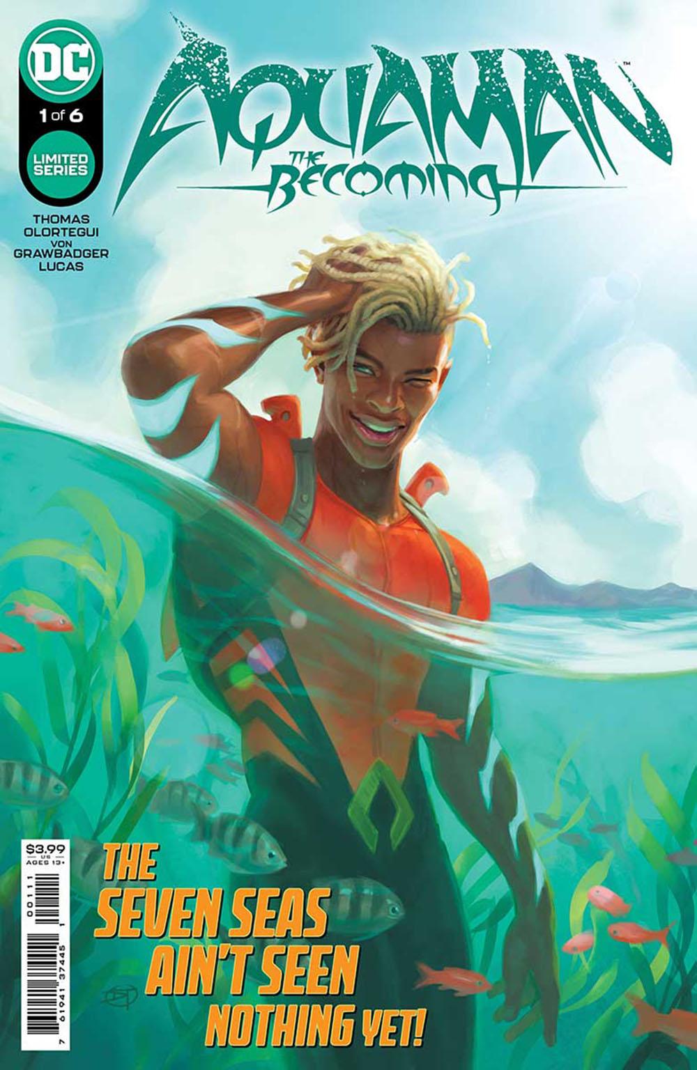 Cubierta de Aquaman