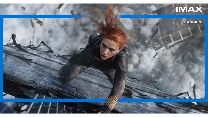 IMAX Black Widow