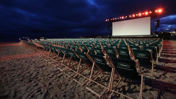 Cannes Beach Screenings