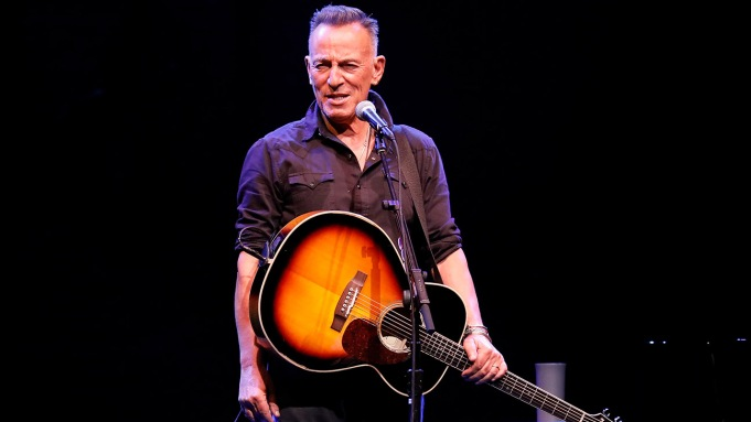 Bruce Springsteen performs during reopening night