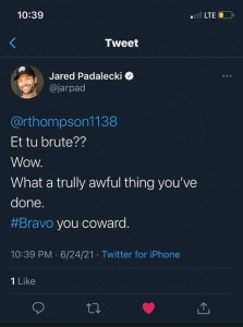 Jared Padalecki Deleted Tweet