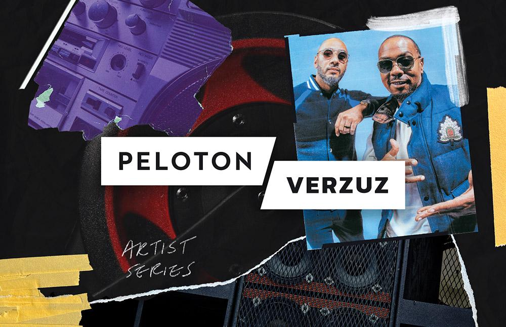 Peloton ad with Verzuz