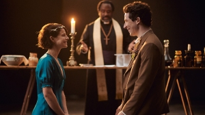 Jessie Buckley and Josh O'Connor in Romeo and Juliet
