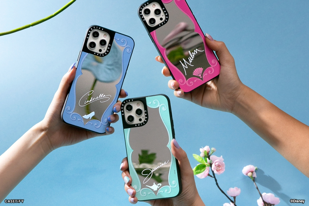 Casetify x Disney Princess Mirror Phone Cases