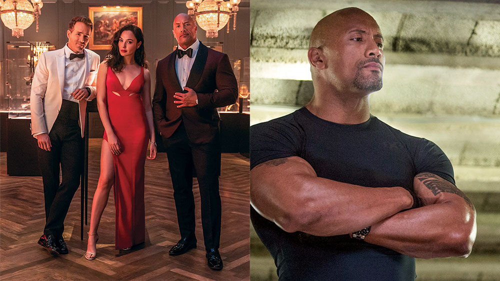 DwayneJohnson in RED NOTICE and FAST & FURIOUS 6