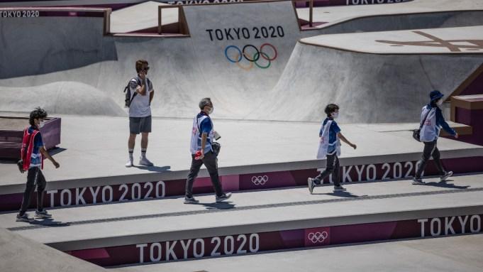 Olympics final prep