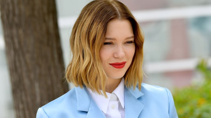 """Lea Seydoux attends thephotocall for """"Oh"""