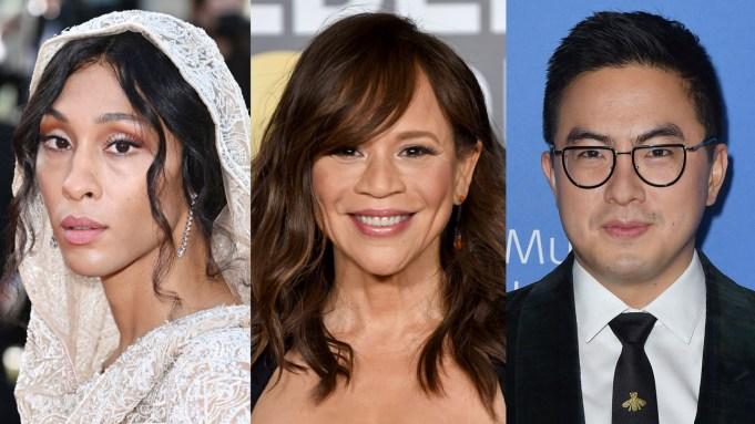 MJ Rodriguez, Rosie Perez, Bowen Yang