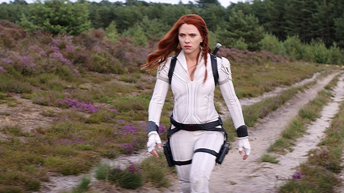 Scarlett Johansson in Marvel Studios' BLACK
