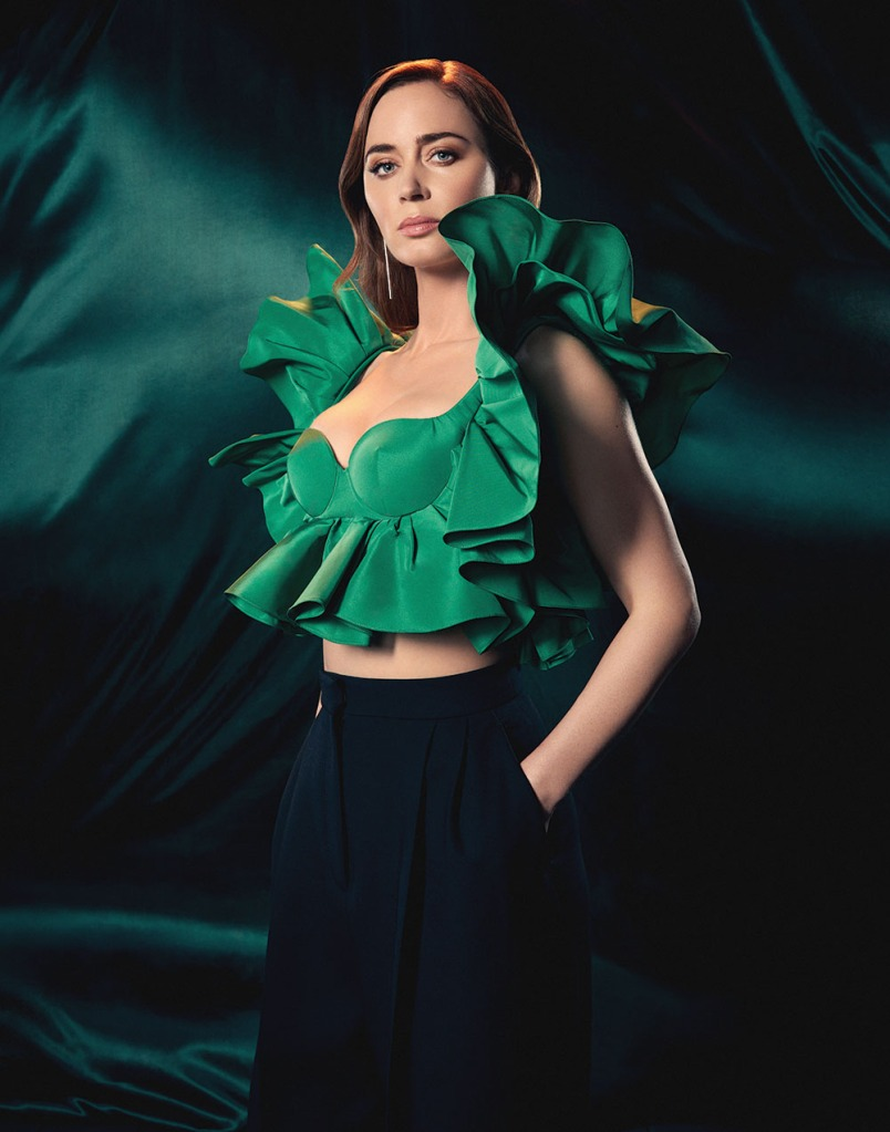 EmilyBlunt Photographed by Chrisean Rose