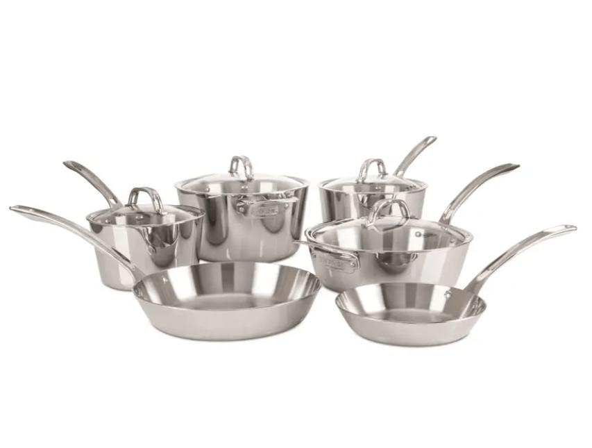 Viking Contemporary 10-Piece Cookware Set