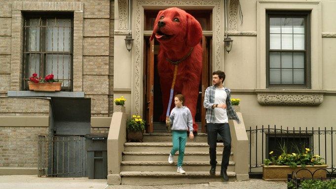 CLIFFORD THE BIG RED DOG, de