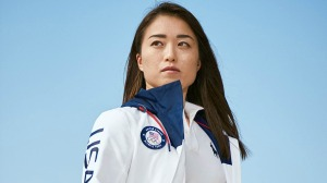 Olympic Athlete Sakura Kokumai wearing Polo Ralph Lauren