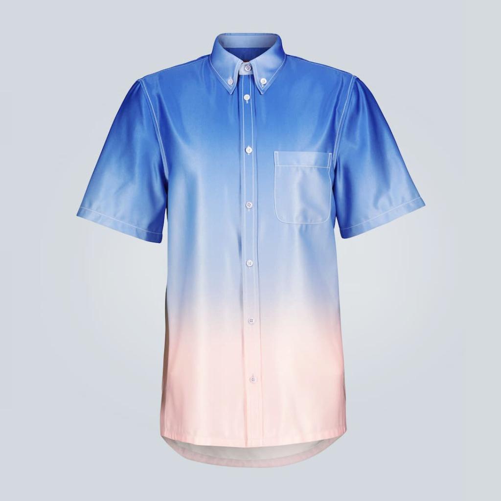 Sies Marjan Rooney Satin Ombre Shirt