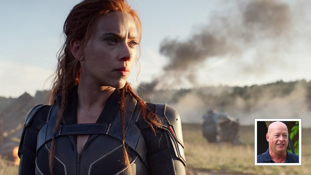 Disney Chief Bob Chapek Defends Hybrid 'Black Widow' Release Amid Scarlett Johansson Lawsuit